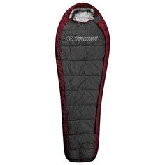 Спальный мешок TRIMM Arktis 185 red/dark grey с правой стороны