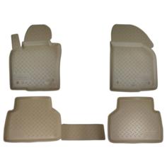Комплект ковриков NorPlast NPA11-C22-180 4 шт. бежевый