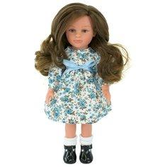 Кукла Lamagik Нина темноволосая в платье с цветами 33 см, 33103