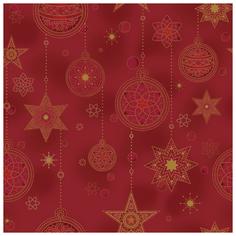 Ткань STOF PEPPY (P - W) для пэчворка 4594 фасовка 50 x 55 см 144±5 г/кв.м елочные украшения 400
