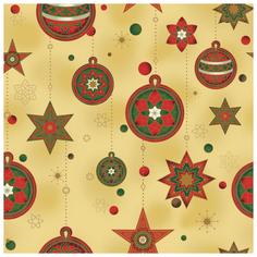 Ткань STOF PEPPY (P - W) для пэчворка 4594 фасовка 50 x 55 см 144±5 г/кв.м елочные украшения 200