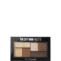 MAYBELLINE NEW YORK Палетка теней для глаз The City Mini