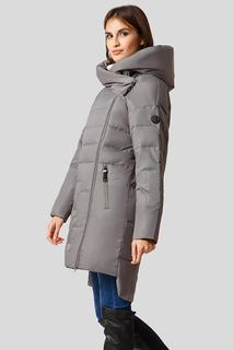Пальто женское Finn Flare W18-32010 серое M