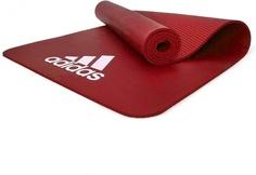 Коврик для йоги Adidas ADMT-11014RD красный 7 мм