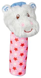 "Погремушка бегемотик ""Бэби Глюк. Baby Gluck"", розовая (арт. 13582) Spiegelburg"