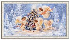 Вышивка бисером Конёк Рождественская елка 9477