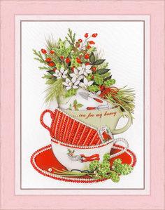 Набор для вышивания Золотое Руно РТ-155 Жасминовый чай