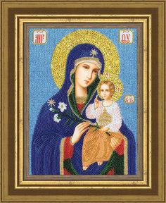 """Набор для вышивания Золотое Руно РТ-046 Образ Божией Матери """"Неувядаемый цвет"""""""