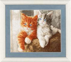 Набор для вышивания Золотое Руно НЛ-047 Пушистые котята