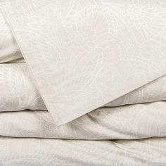 Комплект постельного белья семейный Lameirinho MOSCOW SAND перкаль, бежевый