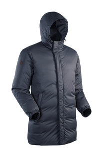 Пуховая куртка ICEBERG LUX 5451-9609-044 СЕРЫЙ ТМН 44 Bask