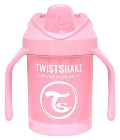 Поильник Twistshake Mini Cup, Пастельный розовый Pastel Pink, 230 мл