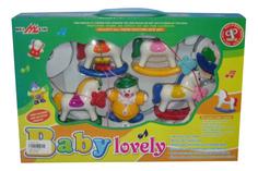 Музыкальная подвеска с погремушками Baby Lovely Shantou Gepai B220176