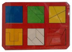 """Рамка-вкладыш """"Сложи квадрат"""", 2 уровень Woodland (Сибирский сувенир)"""