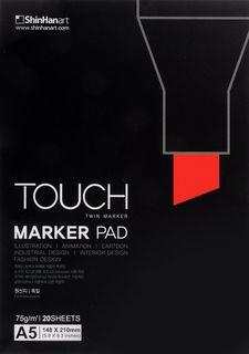 Альбом для маркеров Touch Marker Pad, А5, 20 листов