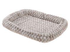 Лежак Ferplast Tender Cuscino мягкий для животных (Д 122 х Ш 76 х В 5 см, Серый)
