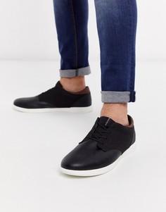 Черные кроссовки из искусственной кожи Jack & Jones-Черный