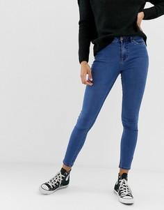 Мягкие джинсы скинни New Look India-Синий