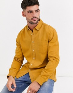 Рубашка горчичного цвета Topman-Желтый