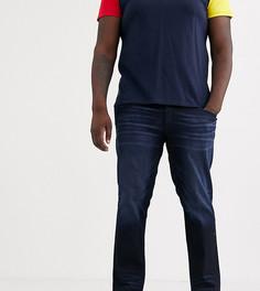 Темно-синие зауженные джинсы Jack & Jones Intelligence-Синий