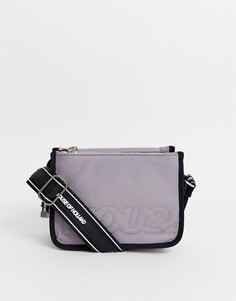 Нейлоновая сумка на плечо House Of Holland-Серый