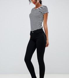 Черные джинсы скинни с эффектом пуш-ап Only Tall-Черный
