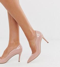 Туфли-лодочки для широкой стопы Miss KG-Бежевый