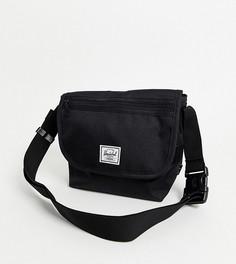 Черная сумка через плечо Herschel Supply Co-Черный