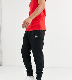 Черные джоггеры с манжетами Nike Tall-Черный