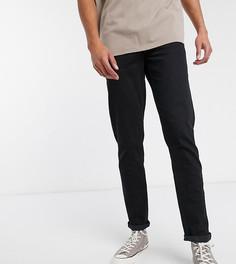 Суженные книзу черные джинсы ASOS DESIGN Tall-Черный