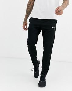 Черные джоггеры с логотипом Puma Football-Черный