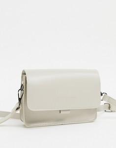 Маленькая сумка с откидным клапаном Claudia Canova-Светло-бежевый