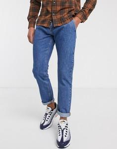 Удобные джинсы винтажного цвета Jack & Jones Intelligence-Синий