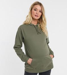 Худи цвета хаки ASOS DESIGN Maternity ultimate-Зеленый