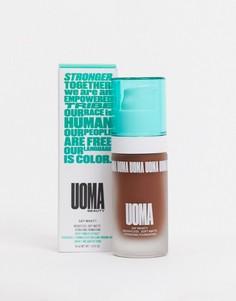 Мягкая матовая основа под макияж UOMA Beauty - Say What?! (Black Pearl)-Коричневый