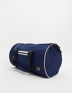 Темно-синяя сумка Fred Perry-Темно-синий