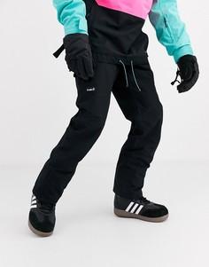 Черные горнолыжные брюки Planks-Черный