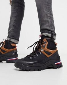 Черные ботинки Tommy Hilfiger-Черный