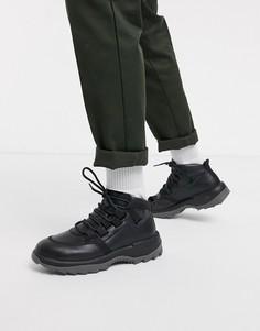 Черные походные ботинки на массивной подошве Camper-Черный