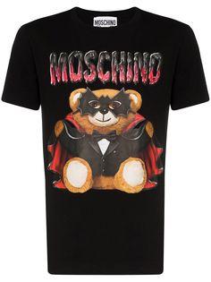 Moschino футболка Teddy с короткими рукавами
