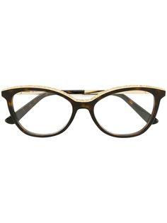 Etro очки с эффектом черепашьего панциря