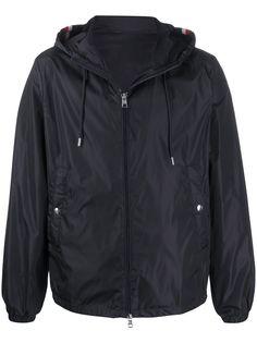 Moncler легкая куртка с контрастными полосками