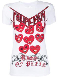 Philipp Plein футболка кроя слим Love Plein