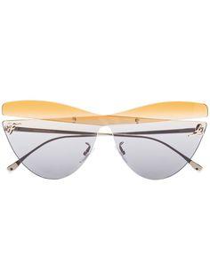 Fendi Eyewear солнцезащитные очки в оправе кошачий глаз