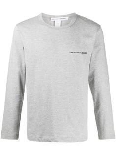 Comme Des Garçons Shirt футболка с длинными рукавами и логотипом
