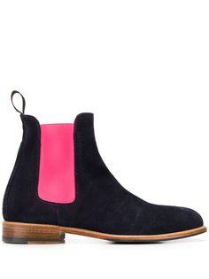 Scarosso ботинки челси в стиле колор-блок