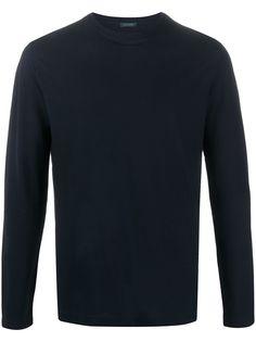 Zanone футболка с длинными рукавами