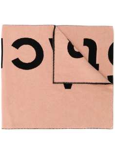 Acne Studios шарф с жаккардовым логотипом