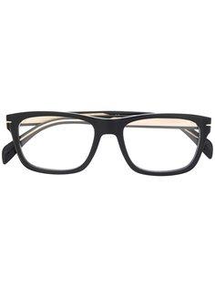 DAVID BECKHAM EYEWEAR очки в прямоугольной оправе