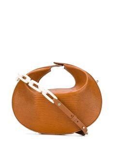 Nico Giani маленькая сумка-тоут Kalea с тиснением под кожу рептилии